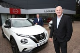 From left: Steve Eley, Lookers Nissan franchise director and Graham Stokoe, general manager, Lookers Nissan Carlisle. Photo by George Carrick Photography.