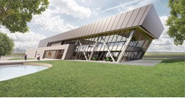 Artist's impression: Lotus's redevelopment of its Hethel headquarters