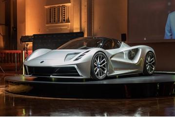 The new Lotus Evija EV hypercar