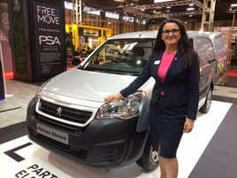 Louise Neilson, Peugeot UK