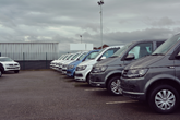 Swansway Garages' new Volkswagen Commercial Vehicles used van centre in Liverpool