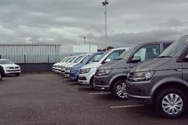 Swansway Garages' new Volkswagen Commercial Vehicles used van centre in Liverpool