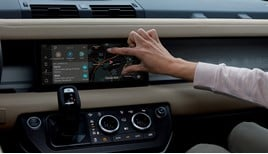 Brought into the 21st century: the new Land Rover Defender's infotainment system