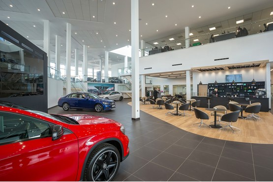 LSH Auto showroom Stockport