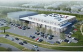 Artist's impression: LSH Auto UK's proposed Mercedes-Benz showroom Tamworth