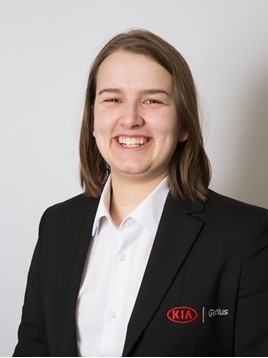 Lucy Ford, product genius at Bolton Kia