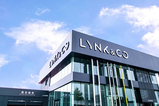 A Lynk & Co store, in China