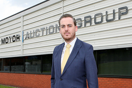 James Tomlinson, managing director of MAG, outside his company's new premises in Rotherham