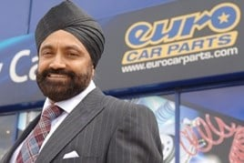 Euro Car Parts' Sukhpal Singh Ahluwalia