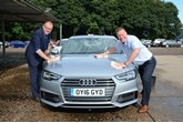 Manheim's Ian Crowther and Richard Cross on valeting duty
