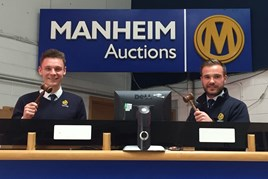 Manheim graduates James Nutt (left) and Charlie Lawton