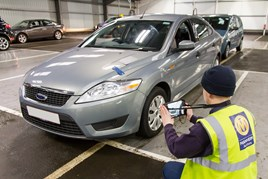 Manheim vehicle inspection