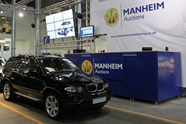 Manheim 4x4 at auction