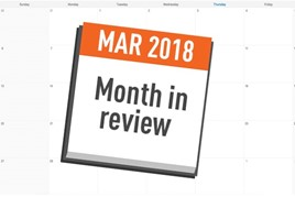 AM month in review March 2018
