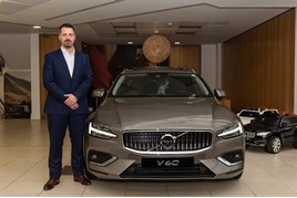 Mark Cox Volvo Car UK national sales manager