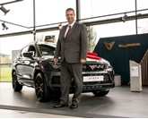 Mark Gibson general manager Bristol Street Motors Birmingham Seat
