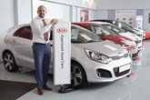 Mark Hayward, general manager of Wessex Garages' Bristol Kia dealership