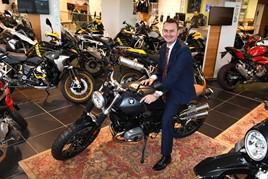 Vertu Motorcycles division brand director, Mark Goode