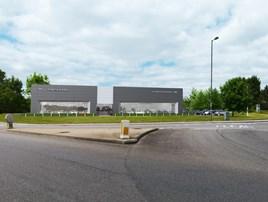 Marshall's forthcoming JLR Newbury showroom