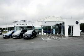 Marshall Motor Holdings' new Volkswagen Van Centre commercial vehicles dealership in Lincoln