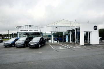 Marshall Motor Holdings' new Volkswagen Van Centre commercial vehicles dealership in Lincoln