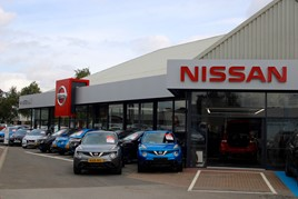 Marshall Motors Group's redeveloped Nissan dealership in Lincoln