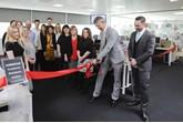 Jorgen Olesen opens Mazda's new CRC