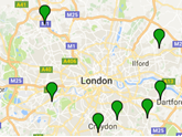 Current Mazda dealer locations, London