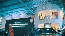 Inchcape UK's Mercedes-Benz dealership in Warrington celebrates its 10-year anniversary