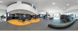 Snows Motor Group's Mercedes-Benz Vans Exeter showroom