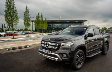 LSH Auto UK's new Mercedes-Benz Vans franchise in Stockport