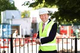 Expansion drive: McCarthy and Stone chief executive, John Tonkiss