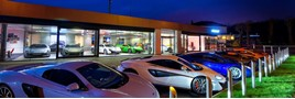 Jardine Motors Group's McLaren Automotive Ascot dealership