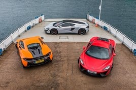 McLaren Automotives' Sports Series line-up