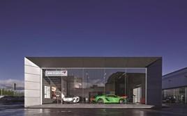 Park's Motor Group's McLaren Glasgow facility