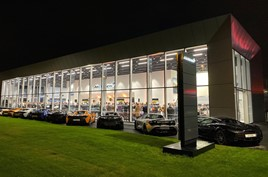 Park's Motor Group's McLaren Automotive dealership in Leeds