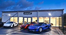 Cambria Automobiles temporary McLaren Automotive dealership in Hatfield