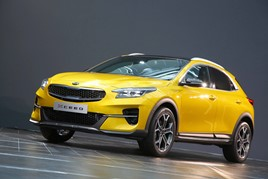 ​Kia Motors UK's new Xceed urban crossover