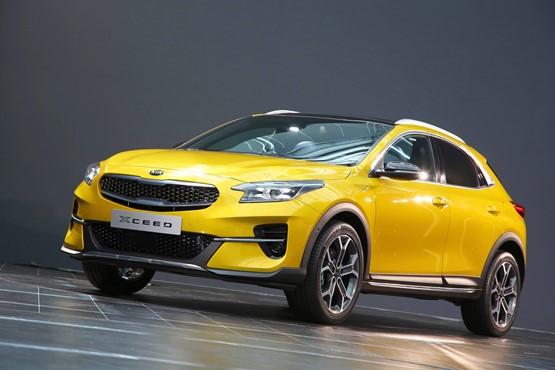 Kia Motors UK's new Xceed urban crossover