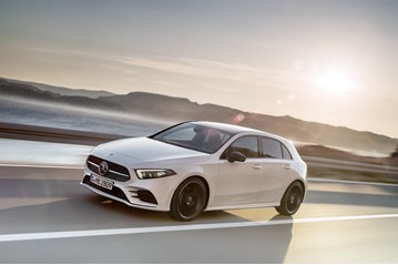 The Euro NCAP safety test's top performer in 2018: the Mercedes-Benz A-Class