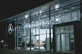 Mercedes-Benz showroom