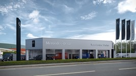 Snows Motor Group's new Mercedes-Benz Vans showroom