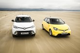 MG Motor UK's MG 3 and GS SUV