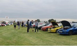 Last year's successful MG Carfest event