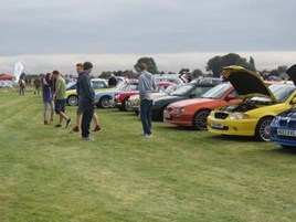 WH Brand & Son's charity car show