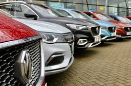 MG offers monthly EV service plans