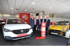MG Motor UK marks its latest expansion with five new franchised partners