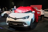 MG GS unveiled at The London Motor Show