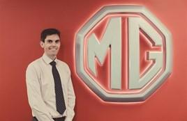 MG Motor UK Matthew Stevens