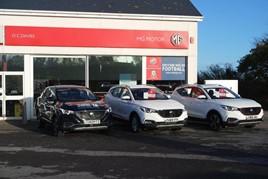 OC Davies & Sons' new MG Motor UK dealership in Cardigan
